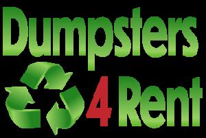 dumpster for rent logo