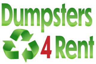 dumpster for rent logo